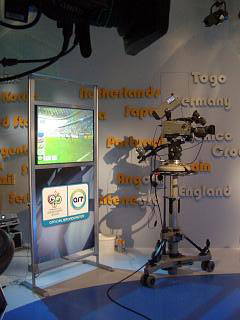 ART use POINT at World Cup 2006
